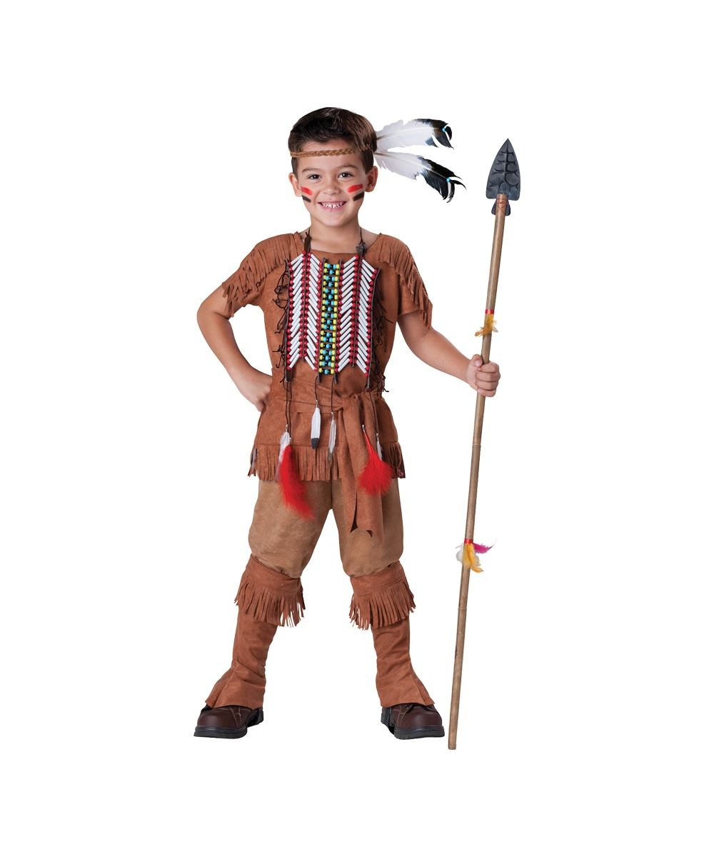 Indian Brave Costume  sc 1 st  Wholesale Party Costumes : indian costume kids  - Germanpascual.Com