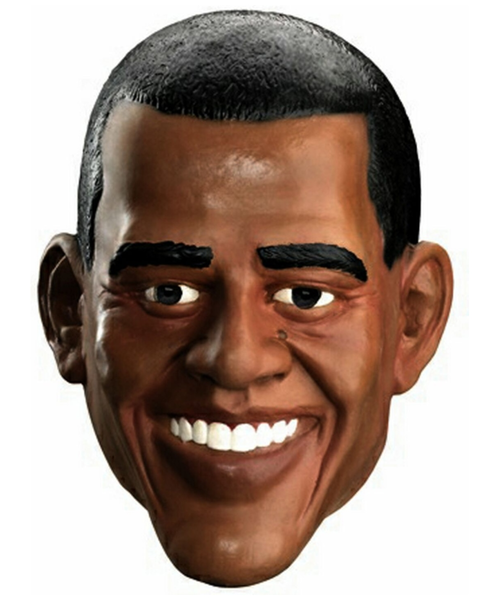 Obama Mask Adult - Men Costumes |