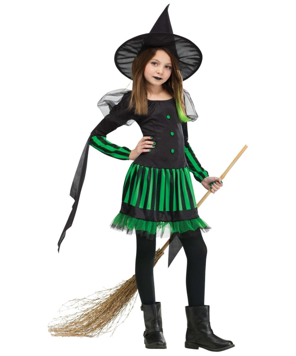 418aa9f9e Wicked Witch Kids Costume