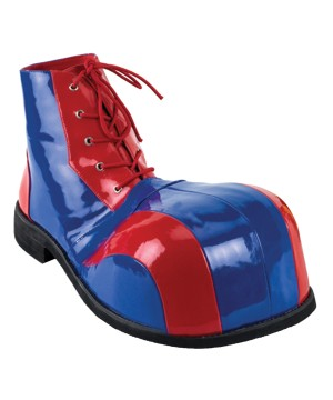 And Blue Clown Shoes