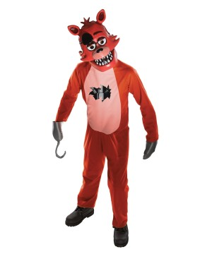 At Freddys Foxy Costume