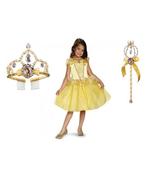 Belle Costume Tiara W Kit