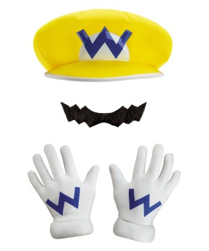 Brothers Wario Costume Set
