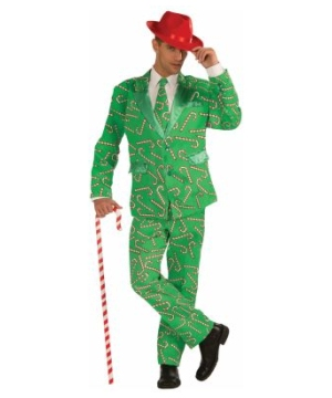 Cane Suit Christmas Costume