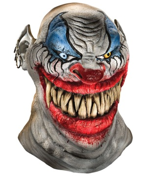 Chopper Clown Horror Mask