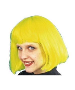 Cindy Neon Yellow/ Wig