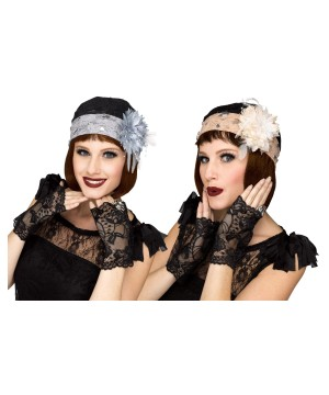 Cloche Hat Costume Set