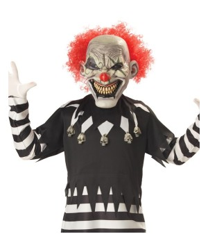 Clown Costume Glow in the Dark Mask