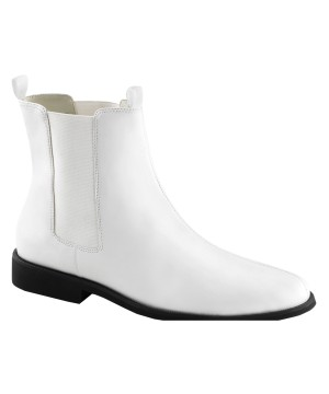 White Cow Boots