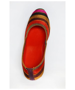 Crafted Artisan Flat Shoes From India