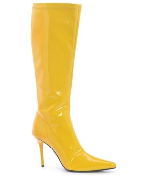 Emma Yellow Boots