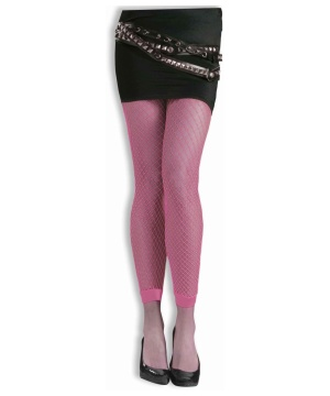 Fishnet Tights Pink