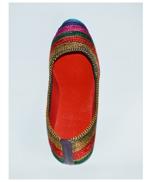 Flat Shoes Embroideby H