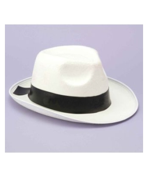 White Gangster Hat s