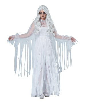 White Ghostly Spirit Costume