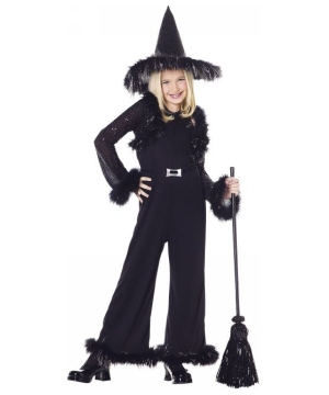 Glamour Witch Kids Costume