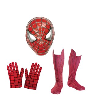 Gloves Boot Tops Costume Set