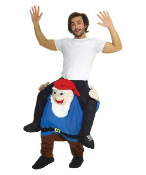 Gnome Piggyback Costume
