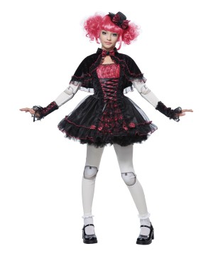 Gothic Victorian Doll Costume