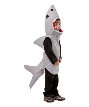 Gray Shark Baby Costume