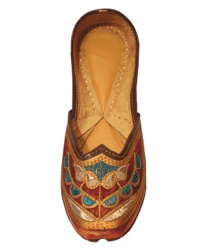 Handcrafted Artisan Indian Slippers