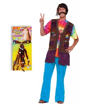 Happy Hippie Costume Kit