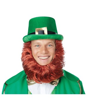 Hat Beard St. Patrick's Day Costume Kit