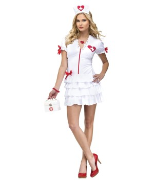 Heart Check Nurse Costume