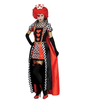 Hearts Woman Costume