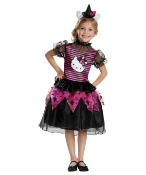 Hello Kitty Witch Costume