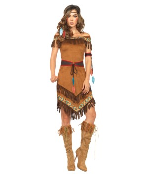 Indian Costume Party Fringe Dress