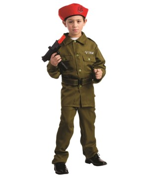 Israel Military Soldier Costume