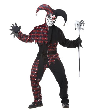 Jester Men Costume