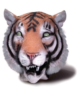 Latex Animal Mask Tiger