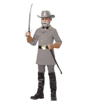 E Lee Confederate Soldier Costume