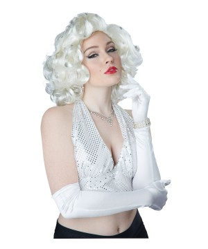 Blonde Marylin Monroe Hairstyle Wig