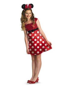 Minnie Mouse Tween/ Costume