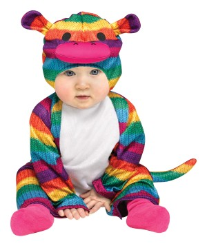 Monkey Baby Colorful Costume