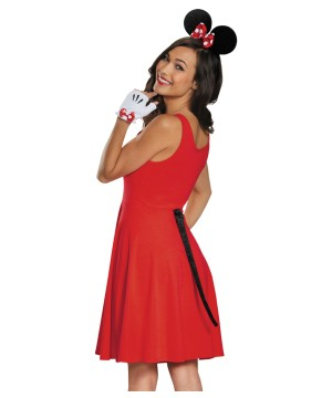 Mouse Ears Gloves Tail Costume Set
