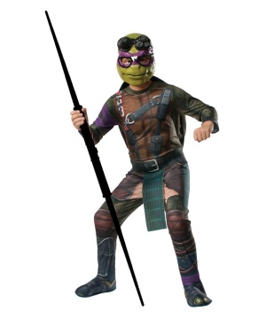 Ninja Turtle Donatello Costume Tv Superhero