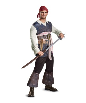 No Tales Jack Sparrow Men Costume