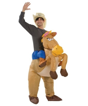On Horse Adult Costume
