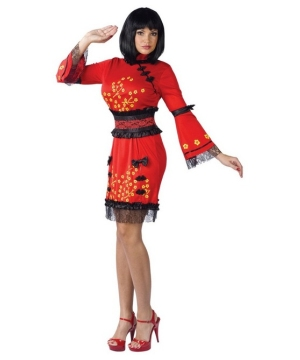 Oriental China Doll Costume