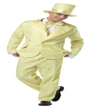 Pastel Yellow Adult Costume
