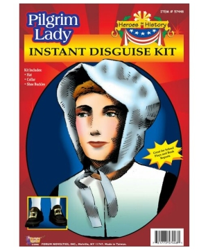 Pilgrim Lady Costume Kit
