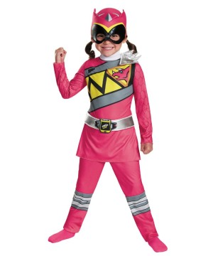 Pink Power Rangers Costume