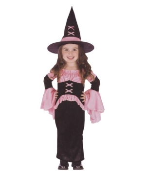 Pretty Pink Witch Costume