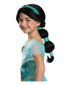 Princess Jasmine Disney Wig