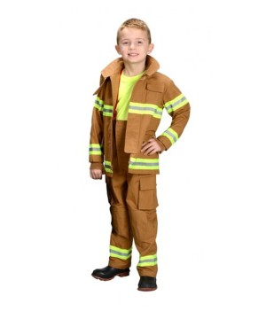 Profressional Firefighter Costume