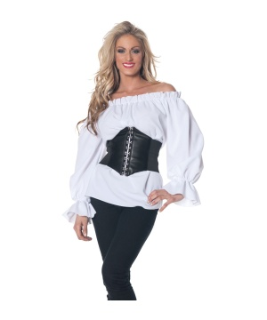Renaissance White Blouse Costume